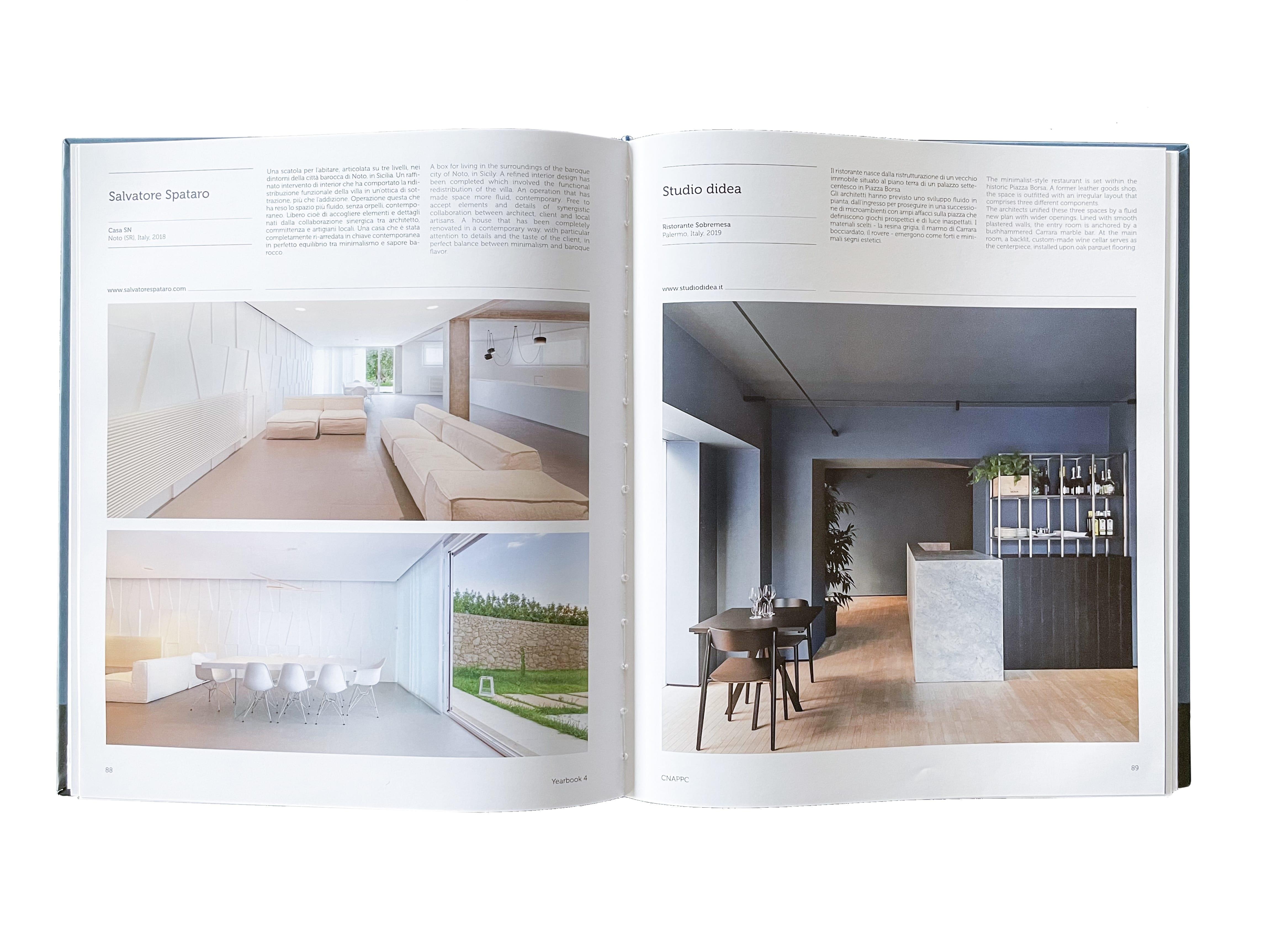 YEARBOOK 4 | SELEZIONE DI ARCHITETTI ITALIANI 2019 1